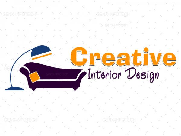 Creative Interior Logo Design Vector  India