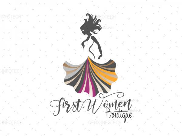 Women Fashion Logo Design Tripura