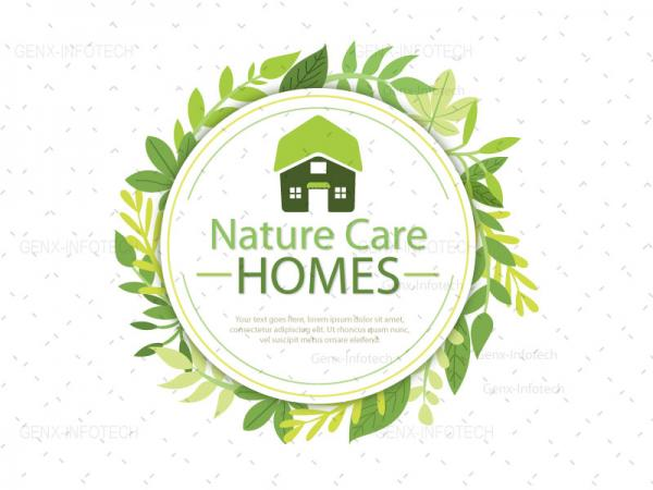Nature Care Logo design punjab