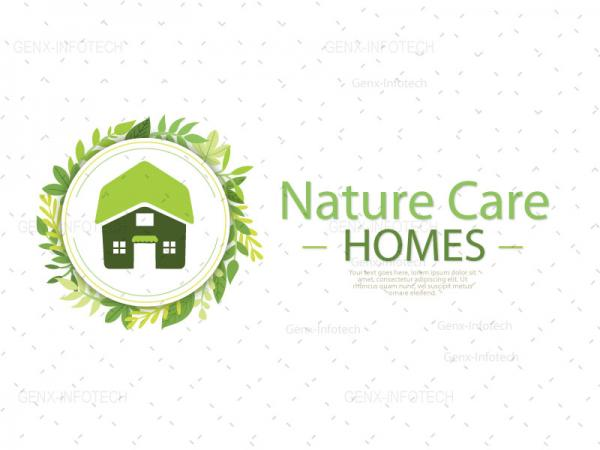 Home Care Logo Design South Tripura