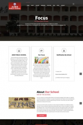 School website design {name}