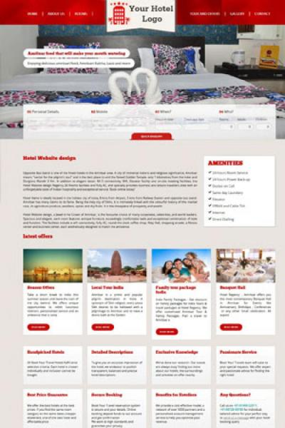 Hotel Website Design {name}
