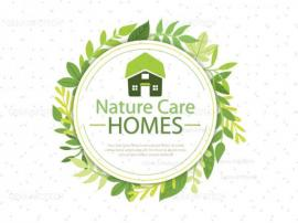 Nature Care Logo design {name}