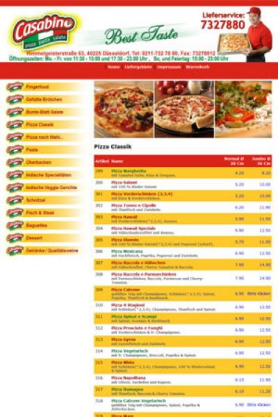 Online Pizza Booking System {name}