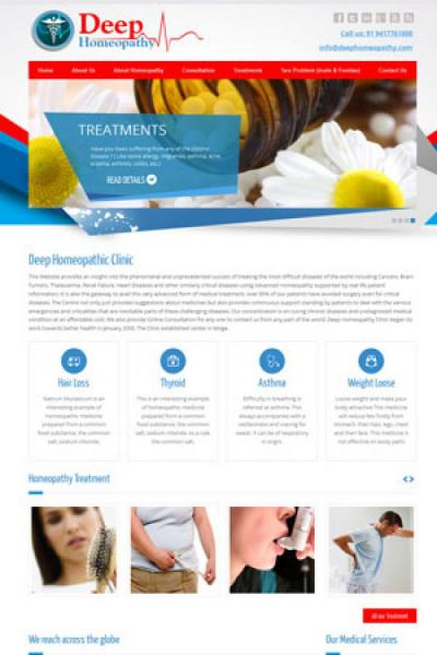 Doctor website design {name}