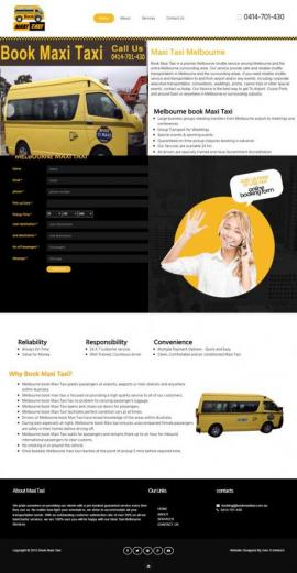 Taxi website Design {name}